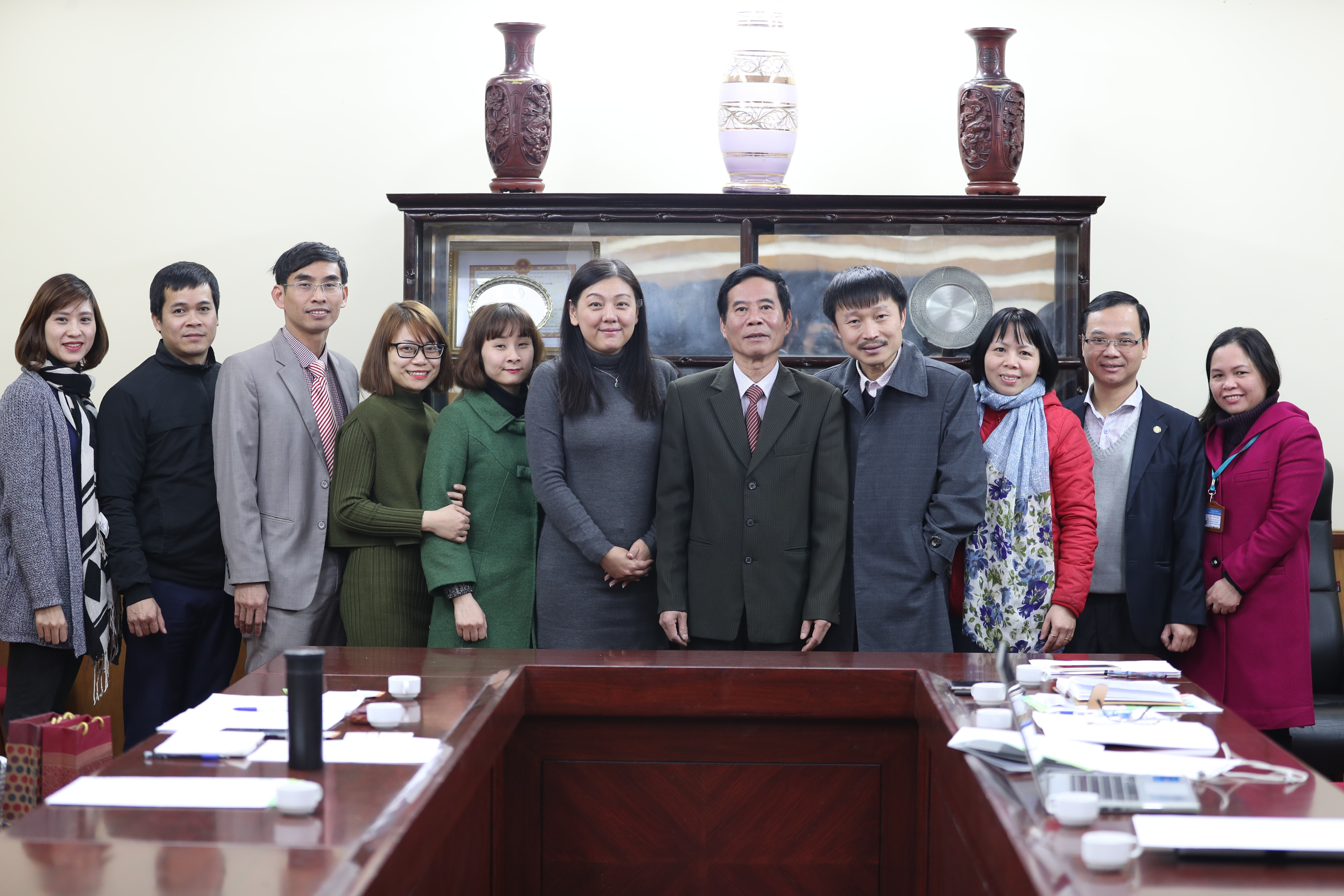 Aof: AOF To Receive Representatives Of Yuan Ze University, Taiwan