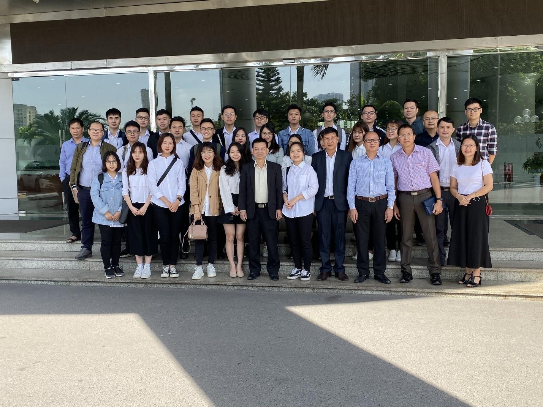 Giảng viên và sinh viên khoa Hệ thống thông tin kinh tế trải nghiệm thực tế tại tổng công ty Điện lực Dầu khí Việt Nam – PV Power